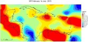 SPI February to July 2015