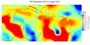 SPI September 2014 to August 2015