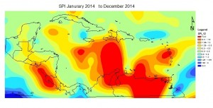 SPI Monitor January to December 2014