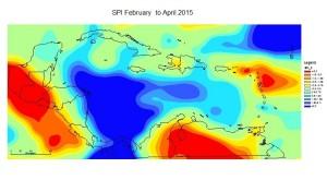 SPI February to April 2015