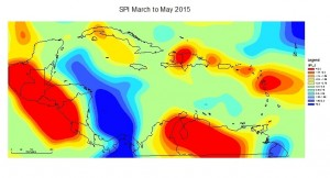SPI March to May 2015